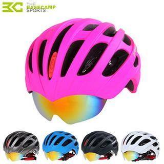 basecamp BC-100 内蔵型ゴーグル付きヘルメット 5色選択可能