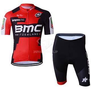 2017 BMC サイクリングウェア 吸汗速乾ジャージ 上下セット