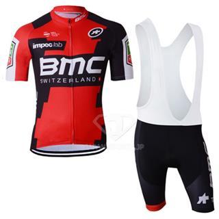 2017年BMC サイクリングジャージ ビブショーツ 上下セット