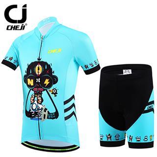 子供専用 夏 自転車ウェア (ロボット) KIDS