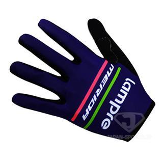 LAMPRE サイクリング長指グローブ 薄手手袋 2017モデル