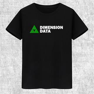 DIMENSION DATA プリント 自転車Tシャツ 100%綿 8色