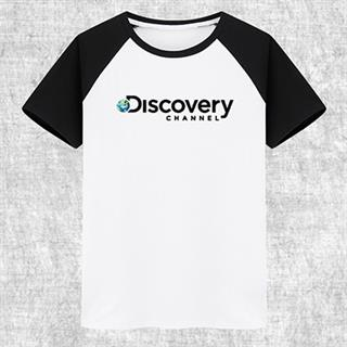 Discovery プリント 自転車Tシャツ 100%綿 8色
