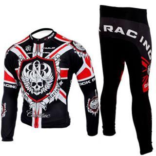2008 ROCK RACING ロックレーシング サイクル春秋向け長袖ジャージセット