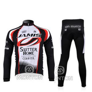 2010 JAMIS ジェイミス サイクル秋冬兼用裏起毛長袖ジャージセット