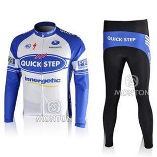 quick step サイクルジャージ長袖デザインセット