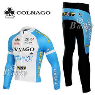 2010 COLNAGO コルナゴ サイクルジャージ 長袖上下セット