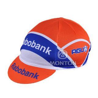 Rabobank 夏に向け 汗止め サイクルキャップ ラボバンク