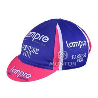 Lampre(ブルー) 夏に向け 汗止め サイクルキャップ ランプレ