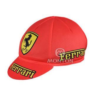 Ferrari 夏に向け 汗止め サイクルキャップ フェラーリ