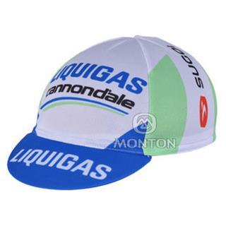 2011年版Liquigas-Cannondale 夏に向け 汗止め サイクルキャップ