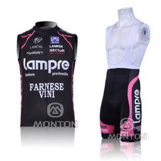 2010年 lampre サイクルチョッキ ランプレ ノースリーブジャージ