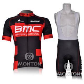2012 BMC(BR) ビブショーツ 吸汗速乾 半袖自転車ウェア