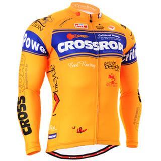 品番701 FIXGEAR 薄手長袖サイクルジャージ 吸水速乾 秋用自転車 ウエア
