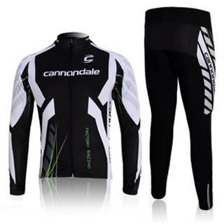 裏起毛 2012年版 キャノンデール 秋冬用 長袖サイクリングウェア Cannondale