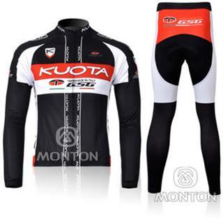 裏起毛 クォータ 2011年 冬用自転車ロードレースウェア KUOTA GSG