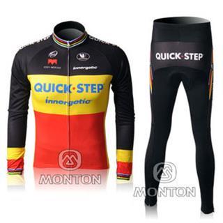 QUICK STEP(BY) 2010年 秋冬用裏起毛自転車ウェア クイックステップ