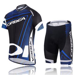 Orbea 2014 レプリカ 黒色パンツ オルベア 自転車アパレル2点セット