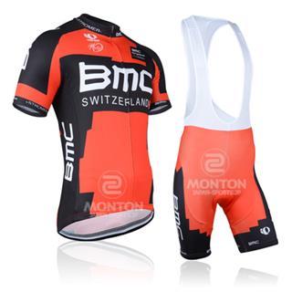 2014年 BMC サイクルジャージ ビブパンツ セット