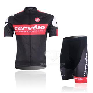 サーヴェロ|Cervelo2014年モデル|春夏用サイクルウェア(ジャージ パンツ)セット