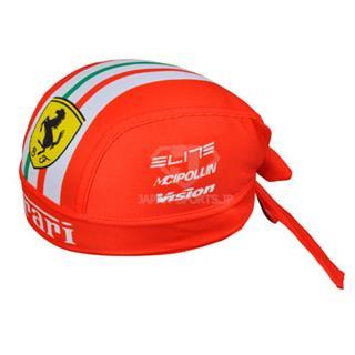Ferrari2013 吸汗速乾 じてんしゃバンダナキャップ