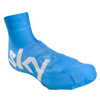 スカイ2014年版sky 靴汚れ対策 自転車シューズカバー ブルー