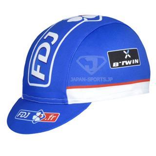 2014年版FDJ 夏用 ツーリングキャップ UVカット ブルー