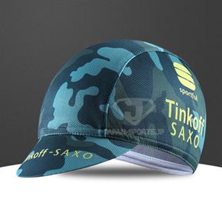 2015年版 Tinkoff SAXO レッシングキャップ 迷彩