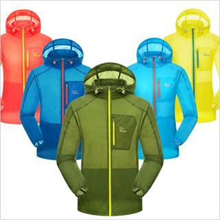 日焼け 少雨 風 対応 超軽量コンパクトウインドジャケット フライトジャケット 7種類