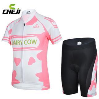 DAIRY COW ピンク 子供用サイクルウェア KIDS