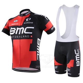 2016年BMC 自転車ビブショーツ 夏用ジャージ 上下セット