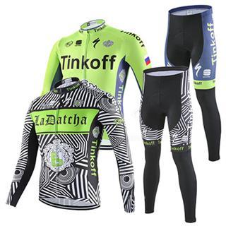 ティンコフ ロードバイク冬物服 上下セット 2016Tinkoff