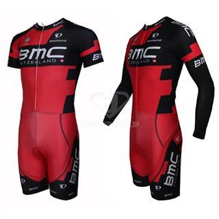 BMC スキンスーツ ロードレース 半袖と長袖二種デザイン