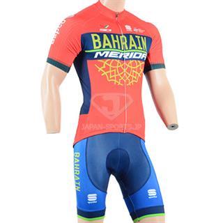 2018 BAHRAIN MERIDA 夏用 サイクルウェア