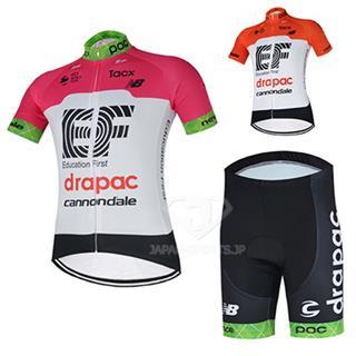 2018 EF drapac cannondale ロードレースウェア 夏用