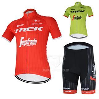 2018 TREK segafredo 夏用 半袖サイクルウェア セット