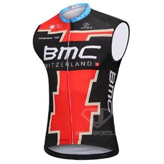 2018年版 レプリカ BMCレーシングチーム 袖なしジャージ