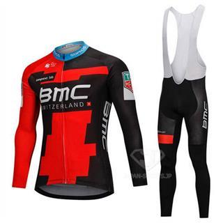 2018年モデル BMC レプリカ 自転車ロードレースウエア ビブタイツセット