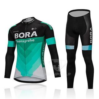2018年 ボーラ 長袖サイクルウェア上下セット BORA 薄手