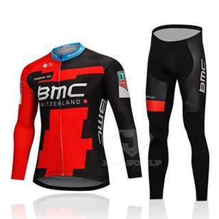 BMC 2018年版仕様 自転車アパレル 薄手長袖 夏
