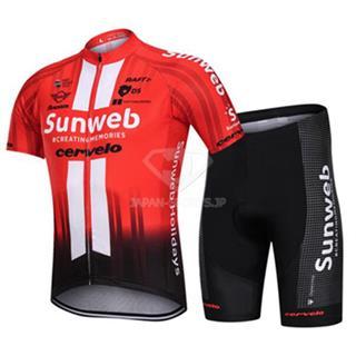 2019年 sunweb レプリカ クロスバイク 自転車 ウェア サンウェブ